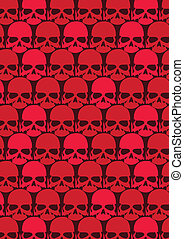 Lots of red skulls