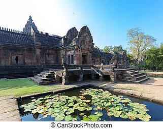 Phanom Rung castle - Khao Phanom Rung castle
