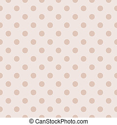 Vector pastel polka dots background