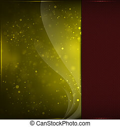 Golden backgraund - Beautiful golden background with glow...