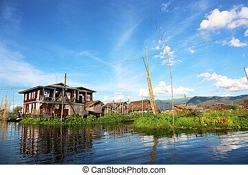 Village Inle Lake Myanmar