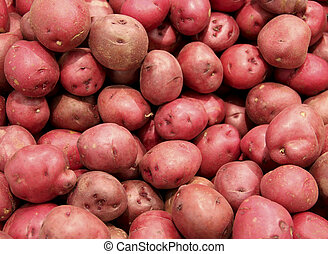red potatoes background - red potatoes bin make a vegetable...