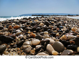 Beach Stones - Colorful Stones on the Beach