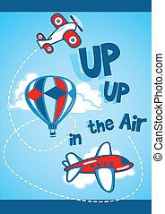 Up up in the air