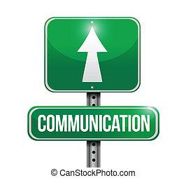 communication sign illustration design