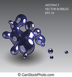 abstract vector bubbles eps10