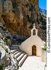 small church of St Nicholas in Crete - small church of St...