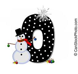 Alphabet Frosty O