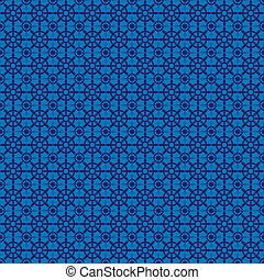 retro navy blue seamless pattern eps10