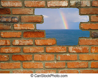 Hole in the Wall Rainbow Escape