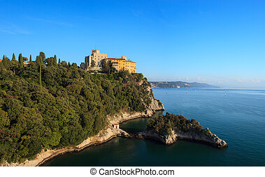 Duino castle - View of the Duino castle in Italy