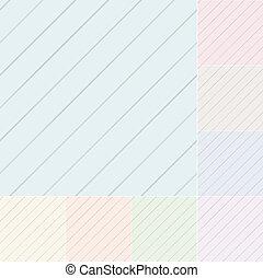 seamless pastel diagonal stripes\