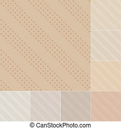 seamless dots pattern on recycled paper, cardboard