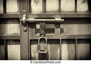 Archivi fotografici di cancello chiavistello ferro for Piani di costruzione brownstone