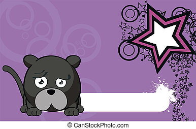 panther cartoon ball wallpaper4