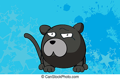 panther cartoon ball wallpaper5