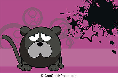 panther cartoon ball wallpaper6