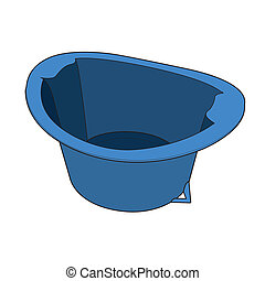 Basin vector - image of Basin isolate on background - vector...