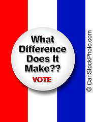 Vote Button. - What difference dose it make button.