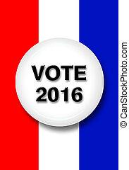 Vote 2016 button.