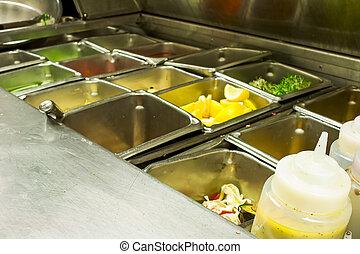Restaurant Kitchen Layout