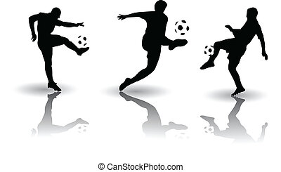 Football soccer sports Vector