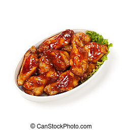 Buffalo chicken wings - Brown Sugar Barbecue Baked Chicken...