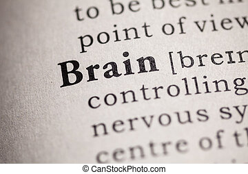 brain - Fake Dictionary, definition of the word brain