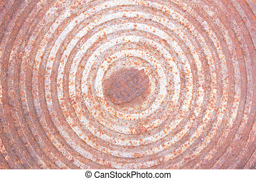 texture of rusted manhole cover,circle pattern,background