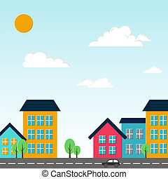 City vector illustration Vector illustration for your design...