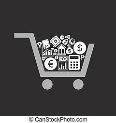 Business a cart
