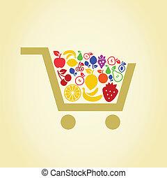 Fruit a cart