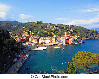 Portofino on Italian Coast