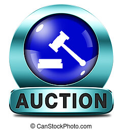 auction - Auction sign online sale bidding and buying real...