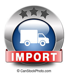 import icon international and worldwide or global trade on...