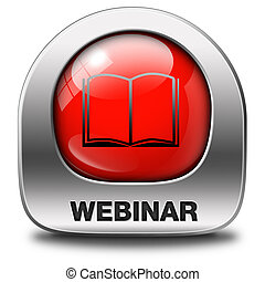 webinar online internet web conference meeting or workshop...