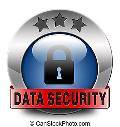 data security and internet safety protect online information...