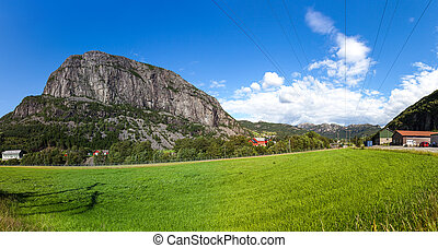 Scenic view of Norway