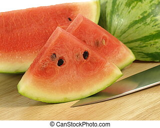 Healthy snack from watermelon