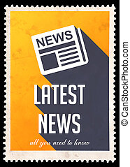 Latest News on Yellow in Flat Design. - Latest News on...
