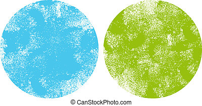 textured dot backgrounds, vector - Grungy textured dot...