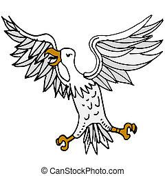 Angry Bird - An image of an angry bird
