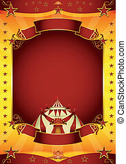 circus carnival - A baroque circus poster for you