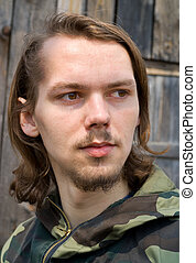 Long-haired Young Man 2