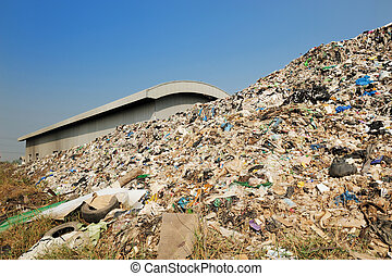 big garbage heap problem of pollution