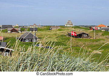Summer houses at the North Sea - Danish holiday houses...