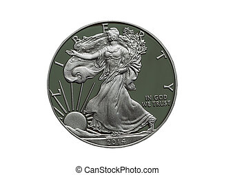 2014 Proof United States of America Silver Dollar - Photo of...