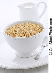 delicious and healthy crisped rice cereal