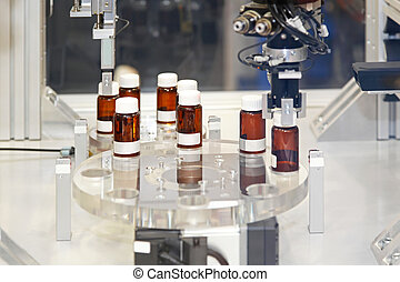 Pharmaceutical manufacturing - Drug manufacturing production...