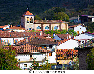 Oroz Betelu in Navarra Pyrenees of Spain - Oroz Betelu...